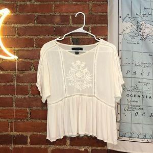 Primark White Blouse